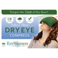 ROYAL BLUE DELUXE Organic EyeWarmer